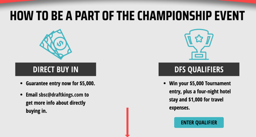 Draftkings sports betting qualifiers